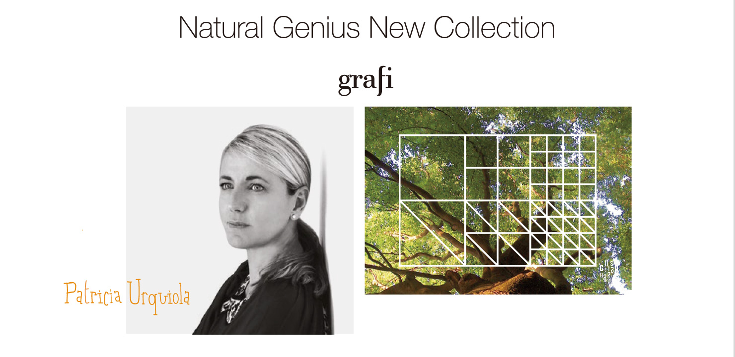Natural Genius New Collection grafi Patricia Urquola