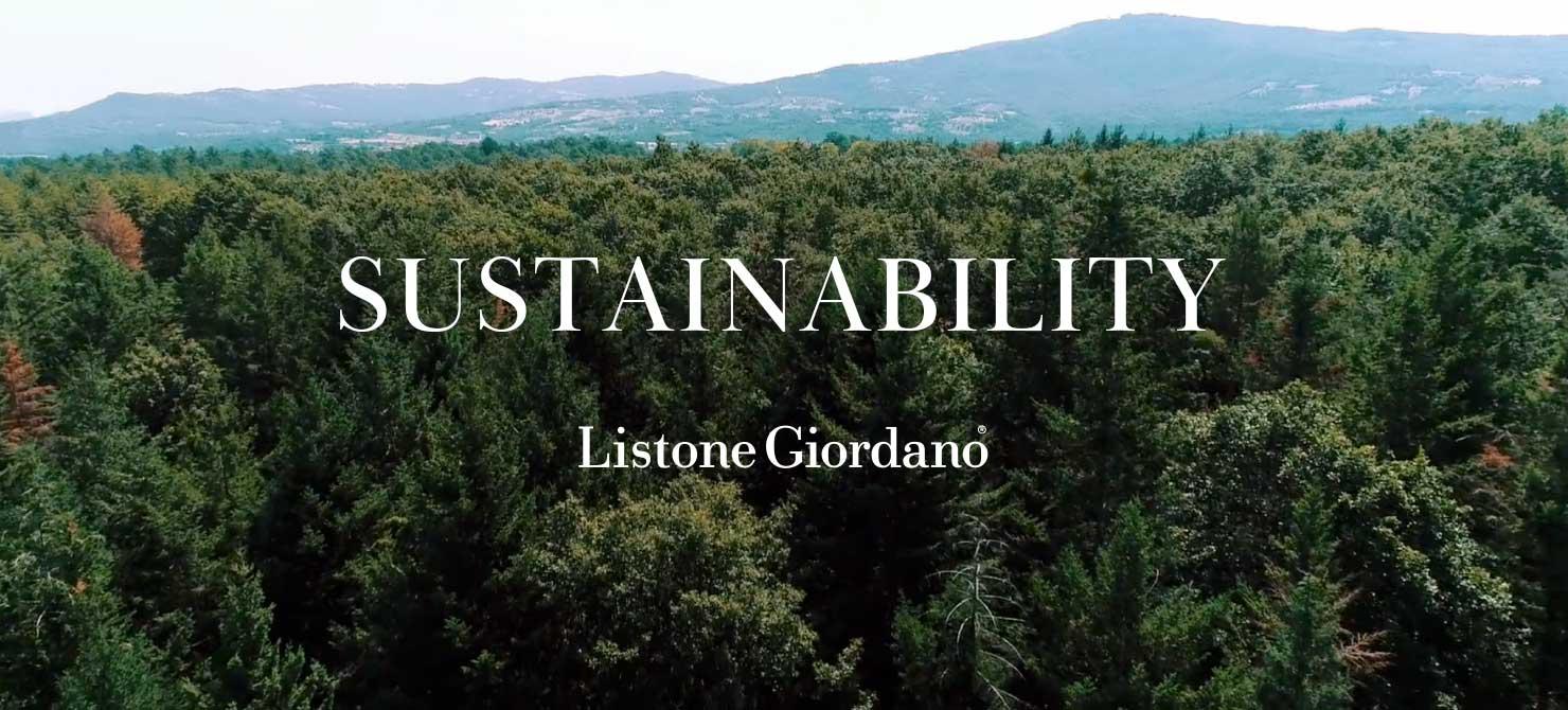 SUSTAINABILITY Listone Giordano®